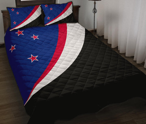 New Zealand Flag Land Of The Long White Cloud Quilt Bedding Sets K54 - 1st New Zealand
