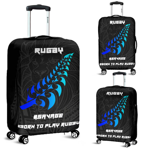 New Zealand Maori Rugby Lion Luggage Covers K5 - 1st New Zealand