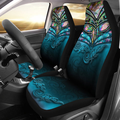 New Zealand Warriors Car Seat Covers Paua Shell  2