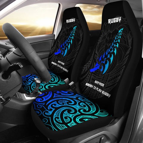 Image of New Zealand Maori Rugby Lion Car Seat Covers K5 - 1st New Zealand