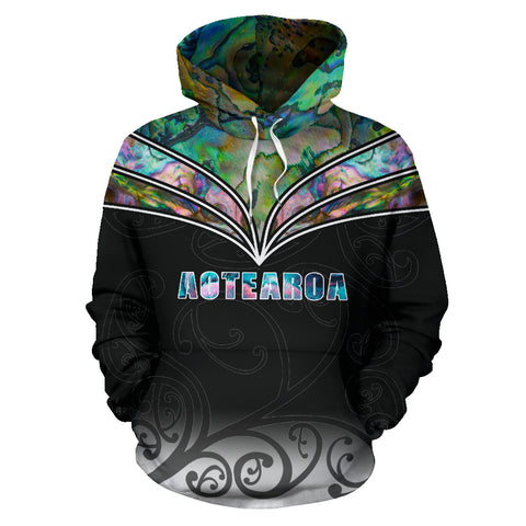 Image of Aotearoa Paua Shell Hoodie K4 - 1st New Zealand