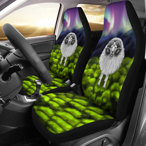 New Zealand Sheep Car Seat Covers Southern Lights K4 - 1st New Zealand