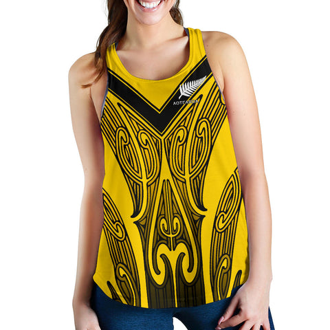 Image of Aotearoa Women's Racerback Tank (Taranaki) TH5 - 1st New Zealand