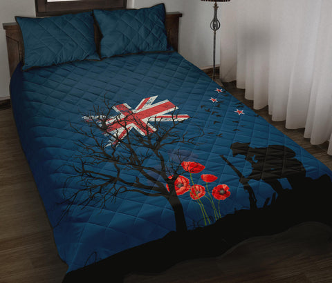 Remembering The Anzacs New Zealand Quilt Bed Set K5 - 1st New Zealand