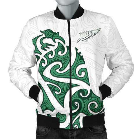 Image of Maori Protection Tattoo Bomber Jacket for Men K4 - 1st New Zealand