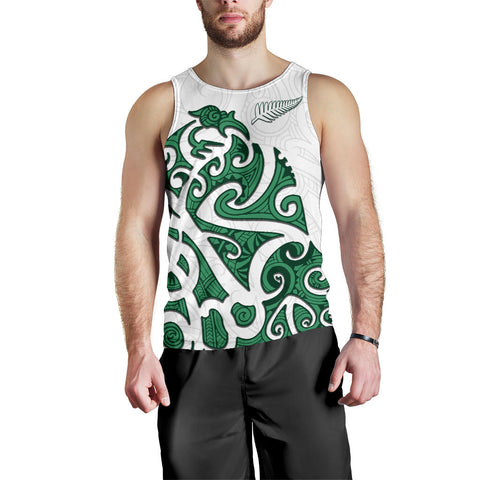 Image of Maori Protection Tattoo Men Tank Top K4 - 1st New Zealand