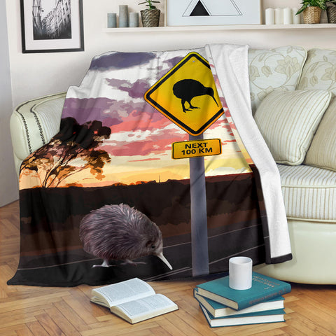 New Zealand Kiwi Sign Blanket K5 - 1st New Zealand