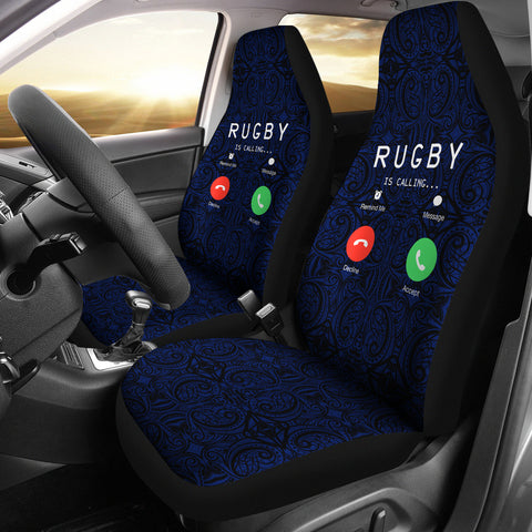 New Zealand Rugby Is Calling Car Seat Covers K47 - 1st New Zealand