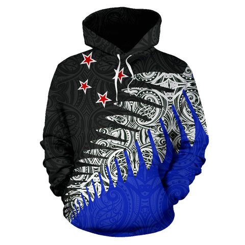 New Zealand Silver Fern™ Pullover Hoodie K4 - 1st New Zealand