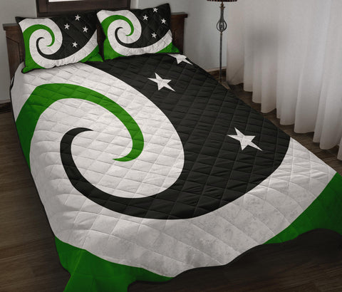 New Zealand Flag Manawa Quilt Bedding Sets K54 - 1st New Zealand