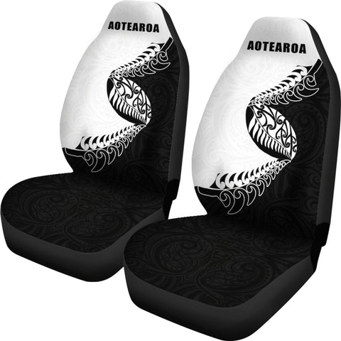 Aotearoa Rugby Fern Car Seat Covers K4 - 1st New Zealand
