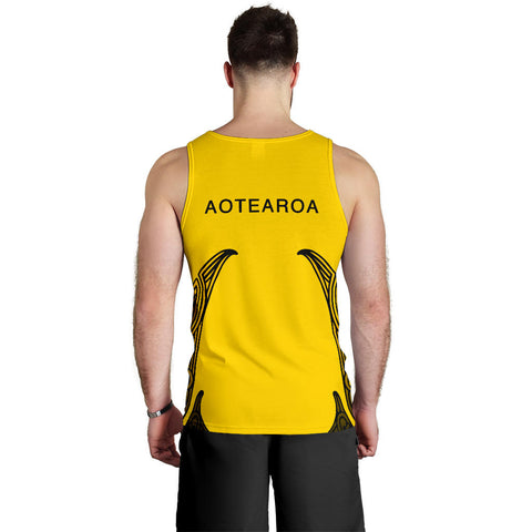 Aotearoa Tank Tops For Men (Taranaki) TH5 - 1st New Zealand