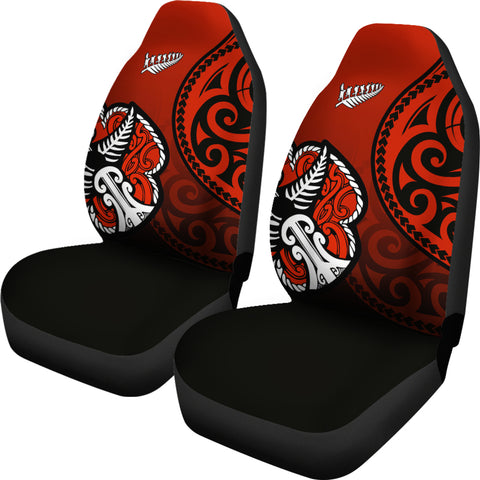 Lest We Forget - Maori Poppy Pullover Car Seat Cover Th00 - 1st New Zealand