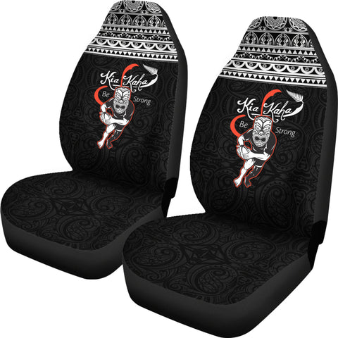 New Zealand Warriors Rugby Maori Tattoo Car Seat Covers K27 - 1st New Zealand