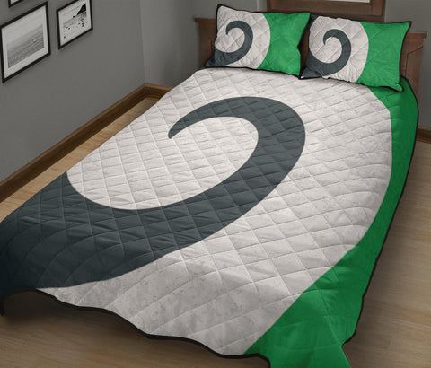 Image of New Zealand Flag Pikopiko Quilt Bedding Sets K5 - 1st New Zealand