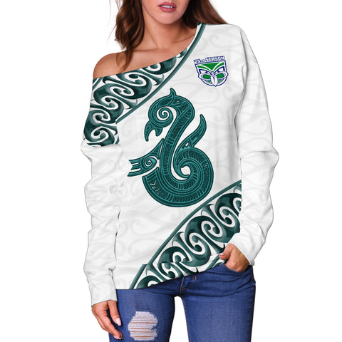 Manaia Warrior Off Shoulder Sweater TH0 - 1st New Zealand