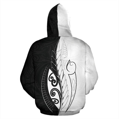 Image of Im Not Perfect But Im Kiwi Zip Hoodie K4 - 1st New Zealand