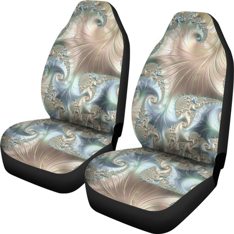 Image of New Zealand Paua Shell Car Seat Covers K5 - 1st New Zealand