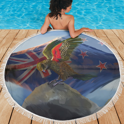 Alpine Parrot Beach Blanket K5 - 1st New Zealand