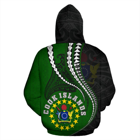 Cook Islands Hoodie Kanaloa Tatau Gen CK All Over Hoodie TH65 - 1st New Zealand