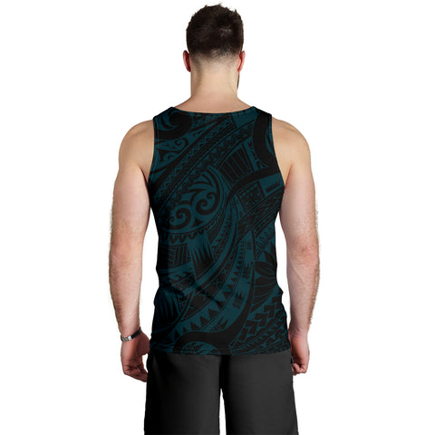 New Zealand Tank Tops, Maori Tattoo Sleeveless Shirts K4 - 1st New Zealand