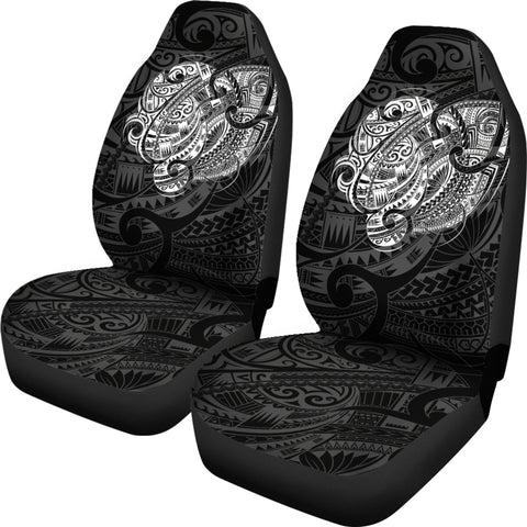 New Zealand Maori Tattoo Car Seat Covers A74 - 1st New Zealand