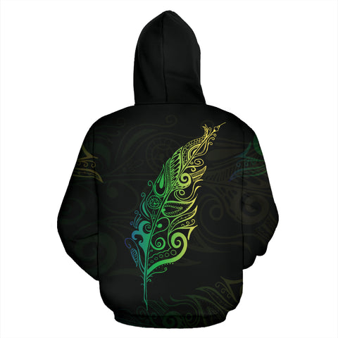 Image of Light Silver Fern New Zealand™  Hoodie by 1stnewzealand for Men and Women