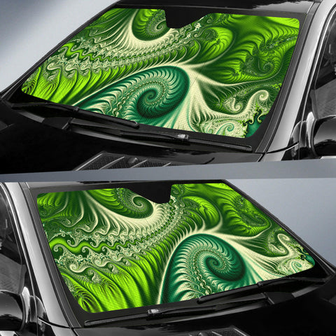 New Zealand Auto Sun Shades Koru Fern - Abstract Style K4 - 1st New Zealand