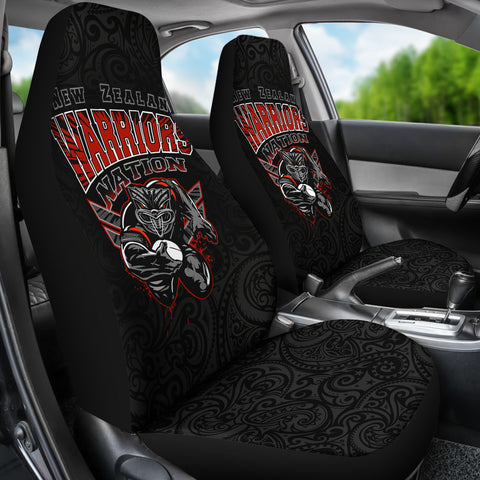 Image of New Zealand Warriors Car Seat Covers Unique K4