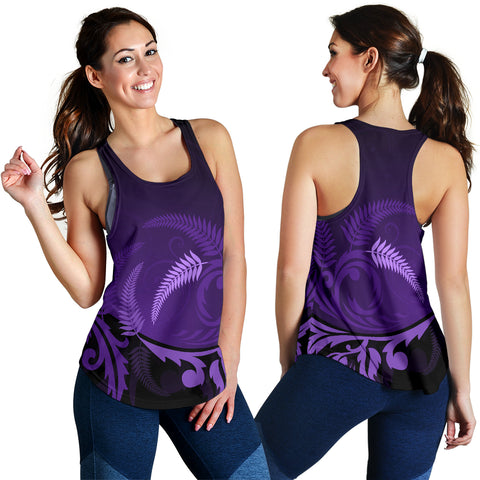 Image of New Zealand Silver Fern Racerback Tanks - 1st New Zealand