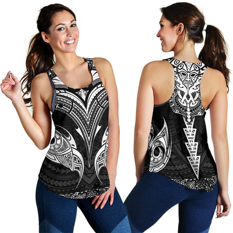 New Zealand The Mana Maori Women Racerback Tank TH5 - 1st New Zealand