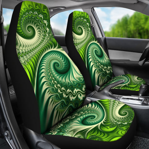 New Zealand Koru Fern Car Seat Covers K4 - 1st New Zealand