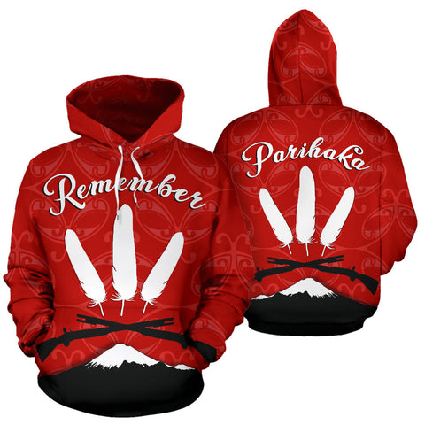 New Zealand Maori Remember Parihaka Hoodie K4 - 1st New Zealand