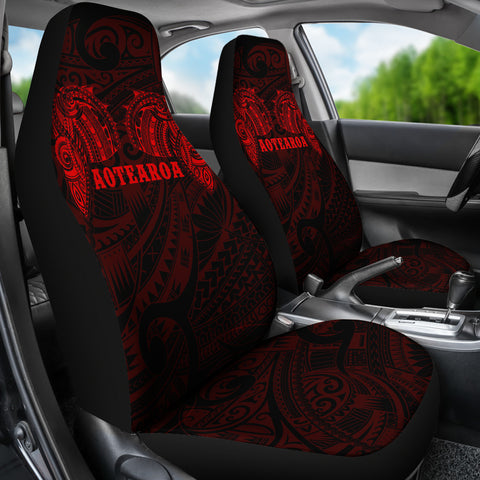 Aotearoa Maori Tattoo Car Seat Covers K4 - 1st New Zealand