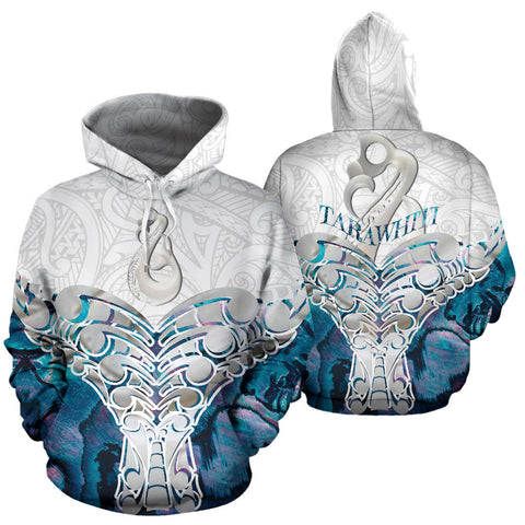 Whale Tail Manaia New Zealand Hoodie Custom Personalized K5 - 1st New Zealand