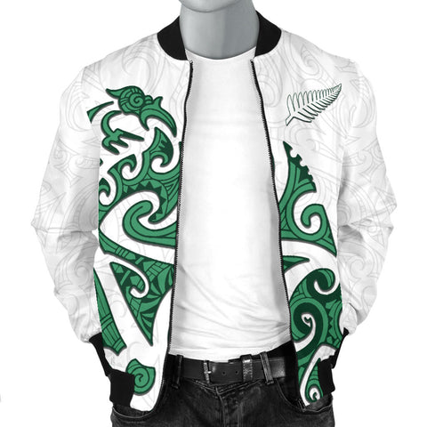 Maori Protection Tattoo Bomber Jacket for Men K4 - 1st New Zealand