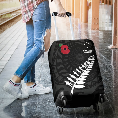Image of Anzac Tattoo New Zealand, Lest We Forget Luggage Covers K5 - 1st New Zealand