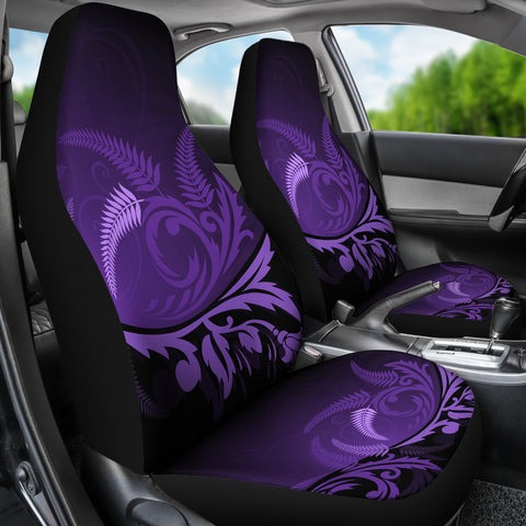 New Zealand Silver Fern Car Seat Covers Purple - 1st New Zealand
