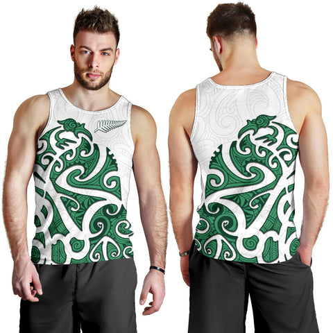 Image of Maori Protection Tattoo Tank Tops For Men K4 - 1st New Zealand