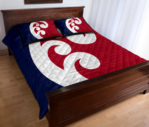 New Zealand Flag Unity Koru Quilt Bedding Sets K5 - 1st New Zealand