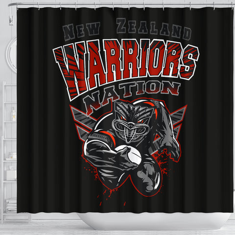 New Zealand Warriors Shower Curtain Unique Style K40