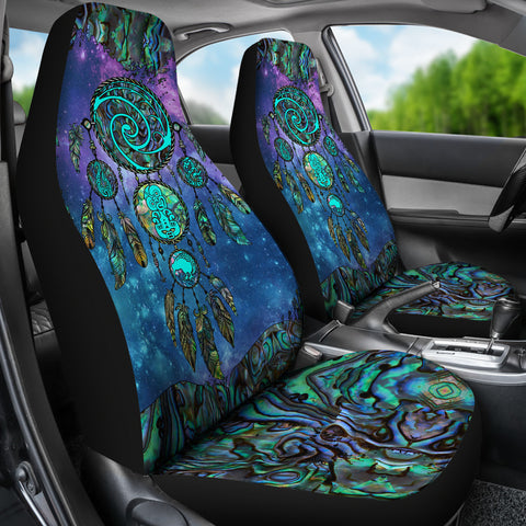 New Zealand Dreamcatcher Car Seat Covers Paua Shell 2