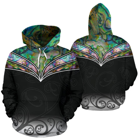 New Zealand Paua Shell Hoodie K4 - 1st New Zealand