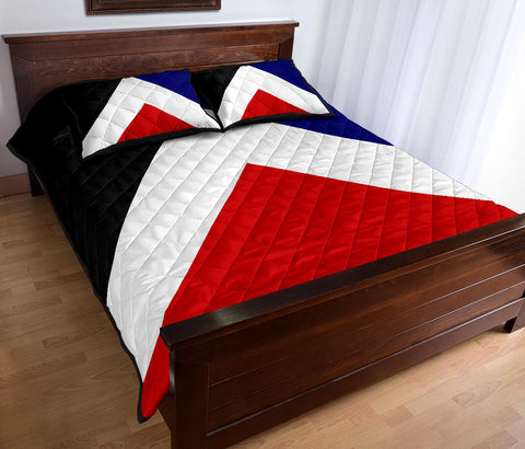New Zealand Flag Red Peak Quilt Bedding Sets K5 - 1st New Zealand