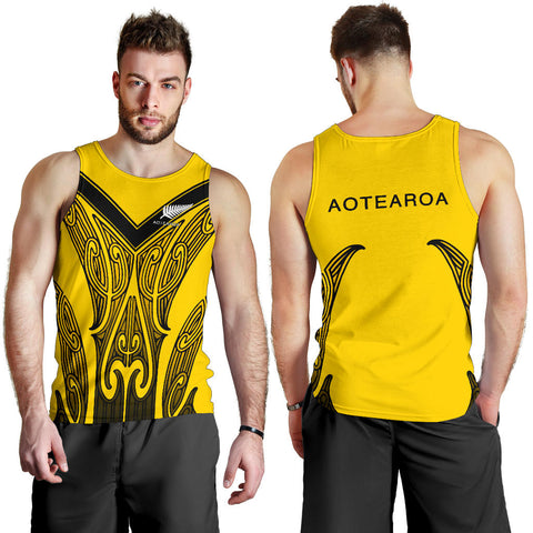 Aotearoa Men's Tank Top (Taranaki) TH5 - 1st New Zealand