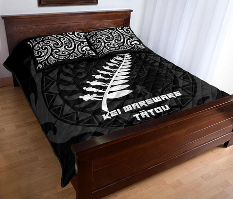 Anzac Tattoo New Zealand, Lest We Forget Quilt Bed Set K5 - 1st New Zealand