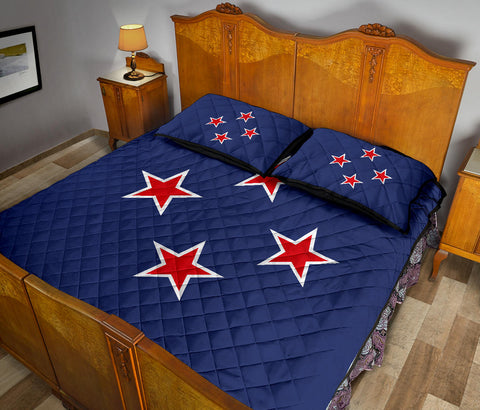 New Zealand Flag New Southern Cross Quilt Bedding Sets K5 - 1st New Zealand