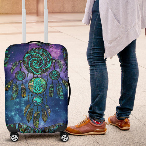 New Zealand Dreamcatcher Luggage Covers Paua Shell K4