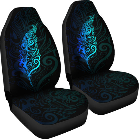 Image of New Zealand Maori Silver Fern Car Seat Covers K5 - 1st New Zealand