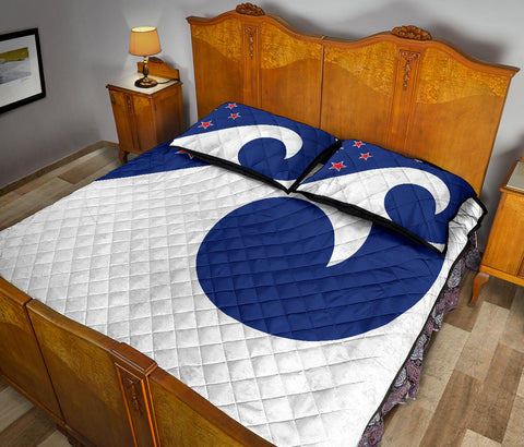 New Zealand Flag Southern Koru Quilt Bedding Sets K5 - 1st New Zealand